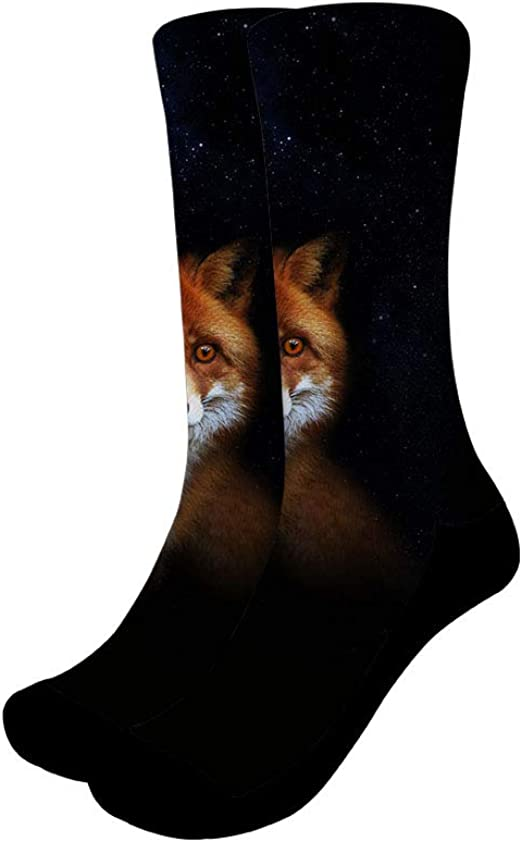Amazing Galaxy Compression Socks For Women Casual Fashion Crew Socks