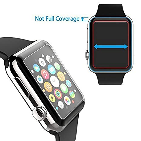 Amazon.com: SunCable Apple Watch 38mm Screen Protector, [2-Pack] Anti-scratch/Fingerprint Bubble-free Ultra-thin HD-clear [Easy Installation] Tempered Glass ...