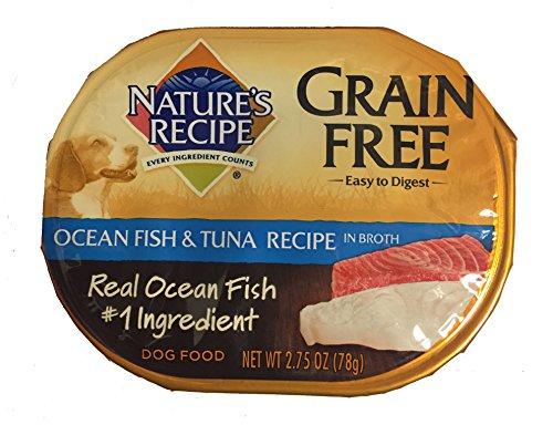Nature's Recipe Grain Free Dog Food, 2.75 Oz, Ocean Fish & Tuna Recipe (Pack of 10) Review