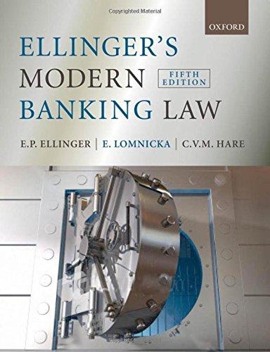 GoodReads Ellinger's Modern Banking Law by E.P. Ellinger, E. Lomnicka, C. Hare.pdf
