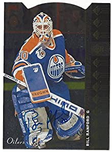 Bill Ranford SP Authentic Edmonton Oilers Autograph Card
