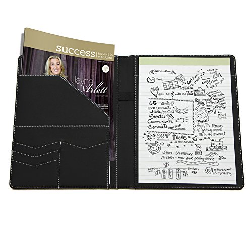 goldberry professional padfolio with refillable notepads With legal documents organizer