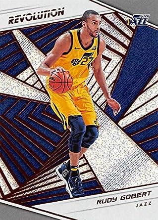 263bc5a35 2018-19 Revolution Basketball  49 Rudy Gobert Utah Jazz Official NBA  Trading Card By