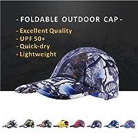 Summer Sport Hat Unisex Lightweight Quick Drying Sun Hat, Baseball Caps UPF 50 UV Protection Foldable Running Golf Hats