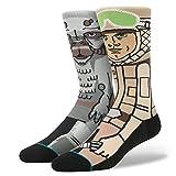Star Wars Men's Sub Zero Crew Sock, Tan, Large