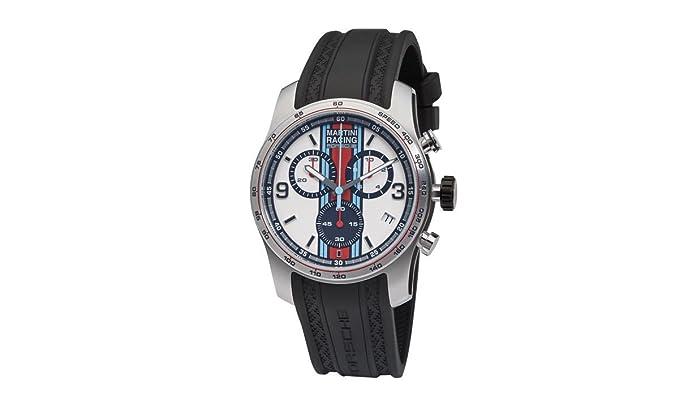 Original Porsche Design Drivers Sport Chrono Cronógrafo Martini wap070 0020j: Amazon.es: Relojes