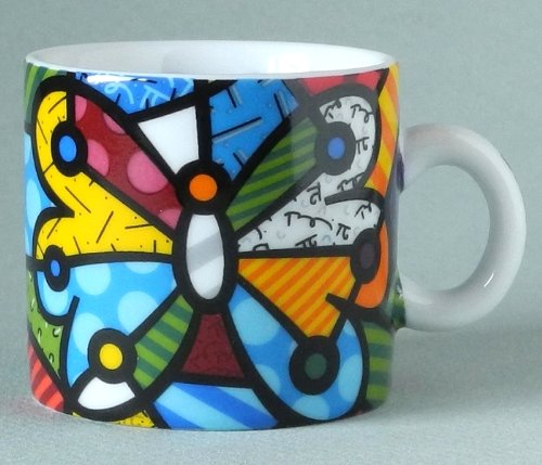 butterfly espresso cups - 4