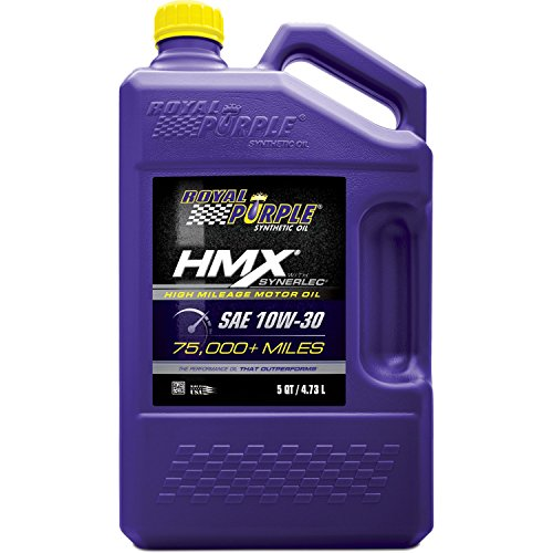 Royal Purple 11750 HMX SAE 10W-30 High-Mileage Synthetic Motor Oil - 5 qt.