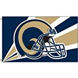 NFL St. Louis Rams 3 by 5 Foot Flag