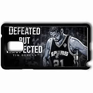 Personalized Samsung Note 4 Cell phone Case/Cover Skin 41 Tim Duncan Defeated But Respected 1680x1050 basketwallpapers.com Black