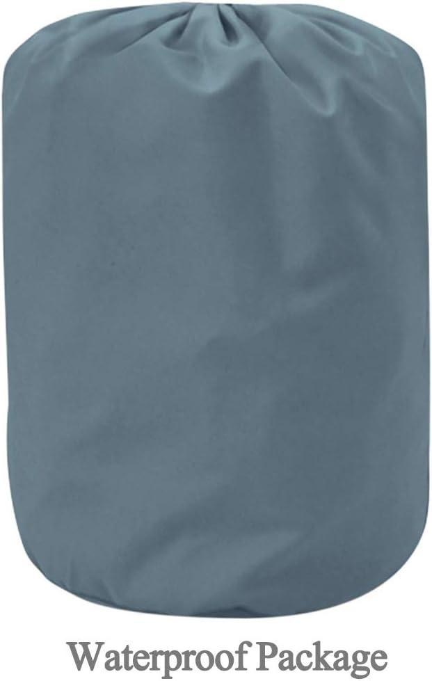 for veh/ículos de hasta 4,5 m 176 p Funda para Coche Coche del PVC cubierta al aire libre y cubierta impermeable a prueba de polvo resistente a la lluvia de nieve cubierta de protecci/ón solar anti-UV