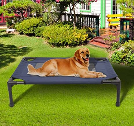 Pawhut Camping Pet Cot Portable Dog Cat Sleep
