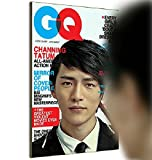 GQ Magazine Cover Mirror / Novelty Mirror Supermodel Mimicking Reflector -2015 Version