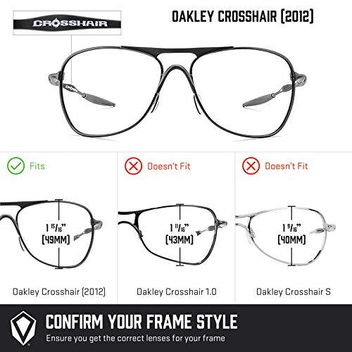 Oakley Polarizados — Opciones De Oscuro Crosshair Repuesto Para Marrón 2012 Múltiples Lentes aBCqwtt