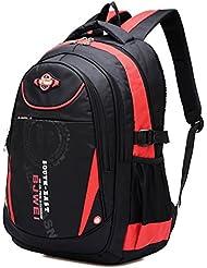 Cool Waterproof Backpack Kids Travel School Bags Comfortable Bookbag