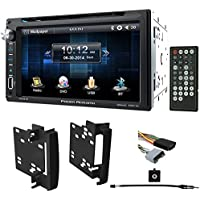 "0810 Jeep Grand Cherokee In-Dash 6.5"" DVD/CD Player Receiver Monitor w Bluetooth"