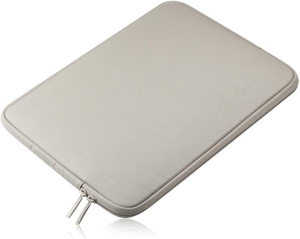 Color : Gray, Size : 15.4 inch DANHCHUN Laptop Bag Soft Waterproof for 13.3//15.4 Inch MacBook Air MacBook ProLaptop Protective Carrying Cover