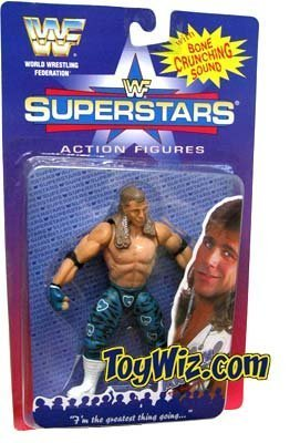 WWF Superstars Wrestling Action Figure Shawn Michaels by Barbie