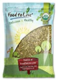 Organic Sprouted Pumpkin Seeds by Food to Live (Non-GMO, Kosher, No Shell, Unsalted, Raw Kernels, Vegan Superfood, Bulk Pepitas) — 8 Pounds