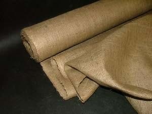Pandoras Upholstery - Tela de arpillera (10 m), color marrón