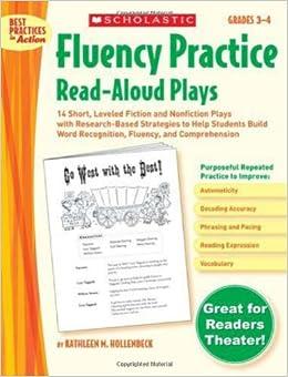 Book Fluency Practice Read-Aloud Plays Best Practices in Action