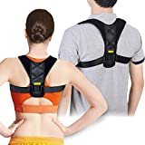 Posture Corrector Support Brace for Men & Women, Figure 8 Shaped Designed for Your Upper Back, Helps to Improve Posture, Prevent Slouching and Back Pain Relief by Babo Care