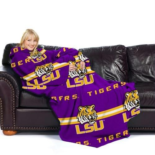 Lsu Tigers Snuggie Blanket Lsu Blanket With Sleeves Lsu
