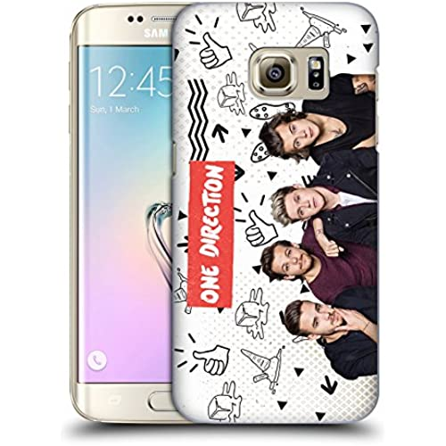 Official One Direction Vintage Group Icon Hard Back Case for Samsung Galaxy S7 edge Sales