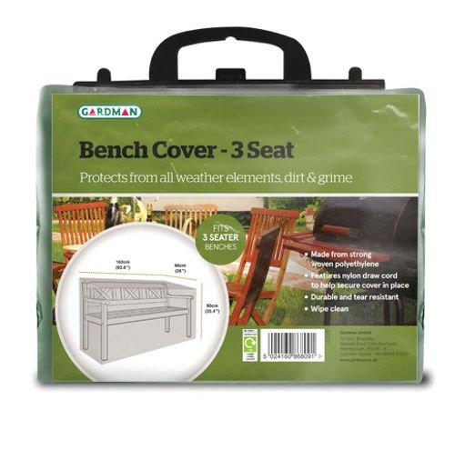 Gardman copertura di protezione per 32210 Garden Bench 162 x 89 centimetri