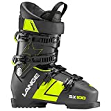 Lange SX 100 Ski Boots Black/Yellow 28.5