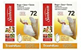 Sunbeam TrashRac 5 Gallon Refill Trash Bags Twin Pack 144 Count