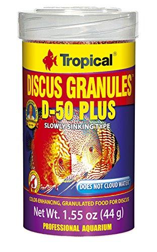 Tropical USA Discus Granules D-50 Plus Fish Food Tin, 44g