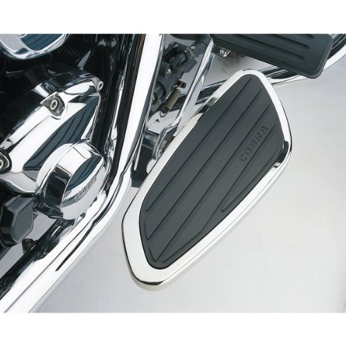 Cobra Boulevard Front Floorboard (Cobra Front Floorboard Kit Swept for Honda VTX1300 VTX1800)