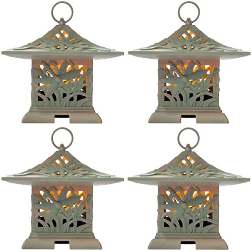 Westinghouse 4 Pack LED Outdoor Fragrance Warmers Flameless Lantern & Air Freshener Outdoor - Westinghouse Candle