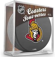 Sher-Wood Hockey NHL Ottawa Senators Official Coaster