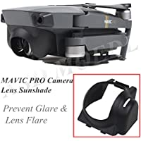 XSD MODEL 10PCS Mavic Lens Hood Sunshade Lens Cover Gimbal Protector For DJI Mavic pro (Black)