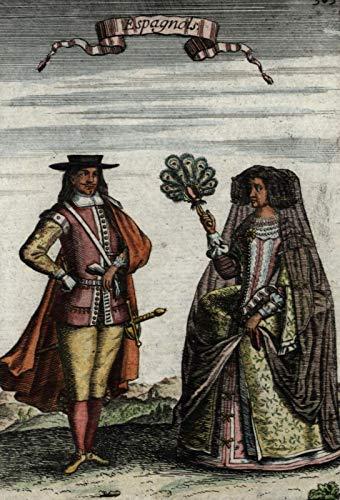Spain Spaniards Spanish natives 1683 old Mallet ethnic costume dress hand -
