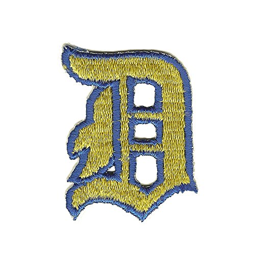 Detroit Tigers D Baseball Team Logo Genuine Vintage Collector Embroidered Iron on Patch