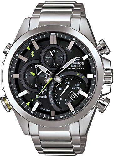 CASIO Watch EDIFICE TIME TRAVELLER smartphone link model EQB-500D-1AJF Men