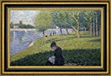 """This 29.25"""" x 43.25"""" premium giclee canvas art print of Study for A Sunday on La Grande Jatte II by Georges Seuratis meticulously created on artist grade canvas utilizing ultra-precision print technology and fade-resistant archival inks.Every detai..."""