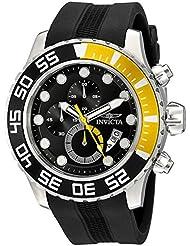 Invicta Mens 20449SYB Pro Diver Analog Display Quartz Black Watch