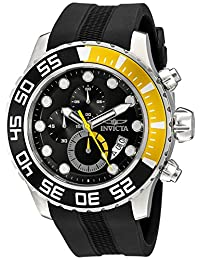 Invicta Men's 20449SYB Pro Diver Analog Display Quartz Black Watch