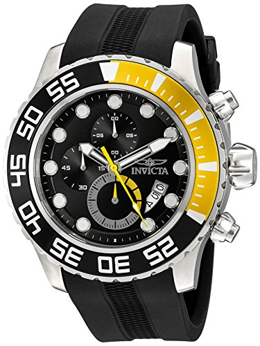 Invicta Men's 20449SYB Pro Diver Analog Display Quartz Black Watch