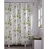 MAYTEX Zen Garden Waterproof PEVA Shower Curtain