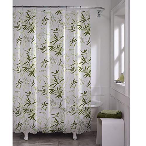 Shower Liner Case - MAYTEX Zen Garden Waterproof PEVA Shower Curtain