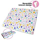 Best Baby Play Mats - Baby Play Mat Double Sided and Foldable. Unicorn Review