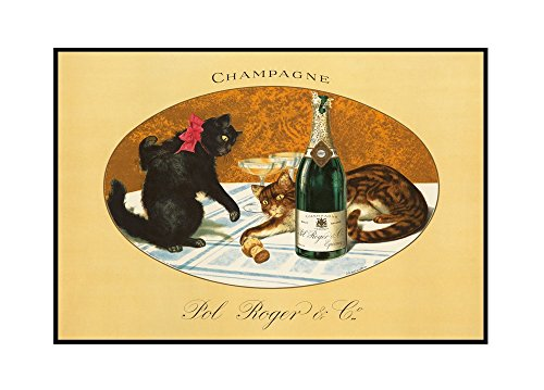 champagne-pol-roger-vintage-poster-c-1921-36x24-framed-gallery-wrapped-stretched-canvas