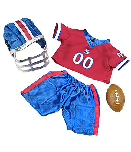 All Star Football Uniform Teddy Bear Clothes Fits Most 14
