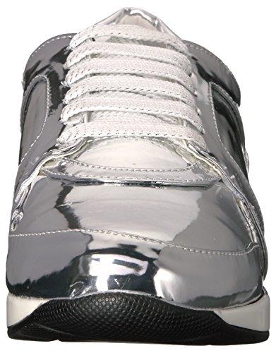 Sneaker Penny Kenny Plateado Women's Loves Techno Fashion 8nxRx7AwqT