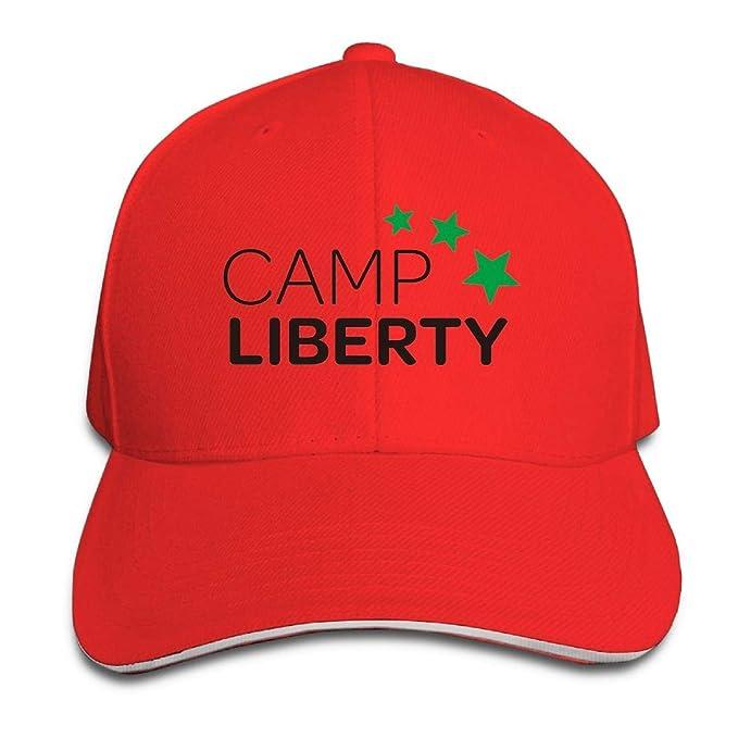 2bf7e65bd01 Amazon.com  Unisex Adjustable Plain Hat Star Camp Liberty Sporting Baseball  Cap Outdoor Snapback Hat  Clothing
